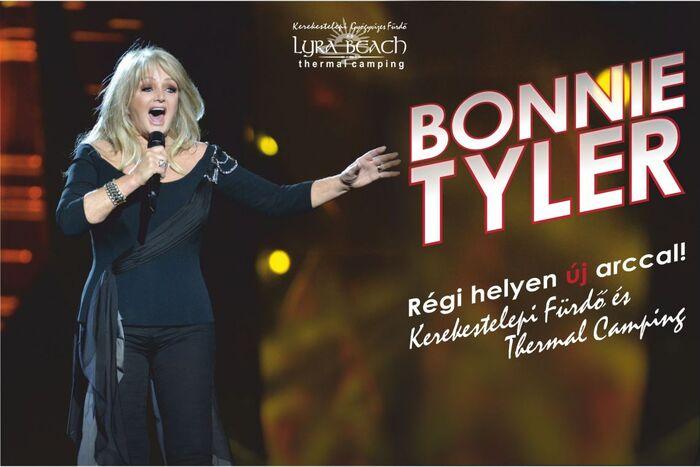 Bonnie Tyler Élő Koncert és Fürdő Fejlesztés záróünnepsége